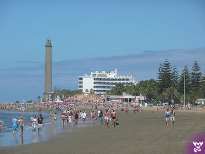 Gran Canaria, Playa del Ingles, 1st December