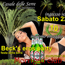 Beck's eros party sabato al Casale