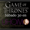MEDIEVAL PARTY, GAMES OF THRONES  SABADO 30 DE SEP