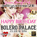 HAPPY BIRTHDAY  BOLERO PALACE!!!