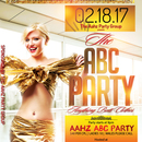 ABC (Anything But Clothes) Party at Caliente