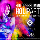 "HOT OPEN SUMMER "" HOLI PARTY"""